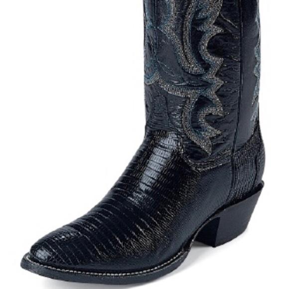Lizard Cowboy Boots Handmade Nwt